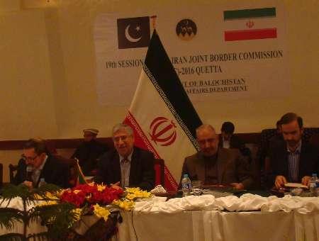 تشدید مبارزه با تروریسم، اشرار و قاچاقچیان، محور نشست مرزی ایران و پاکستان