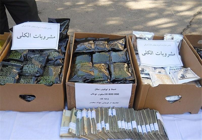 ۱۱۶ باند تهیه و توزیع مواد مخدر در استان بوشهر متلاشی شد