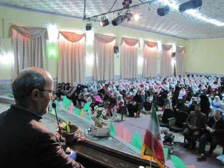 برگزاری جشن جوانه ها با حضور یک هزار دانش آموز در مراغه