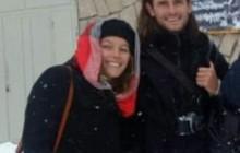 نجات دو استرالیائی از برف و کولاک در محور کندوان شهرستان اسکو