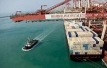 واردات کالاهای غیرنفتی از بندر شهید رجایی 28 درصد کاهش یافت