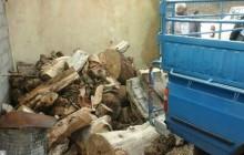 کشف بیش از چهار تن چوب قاچاق در شفت