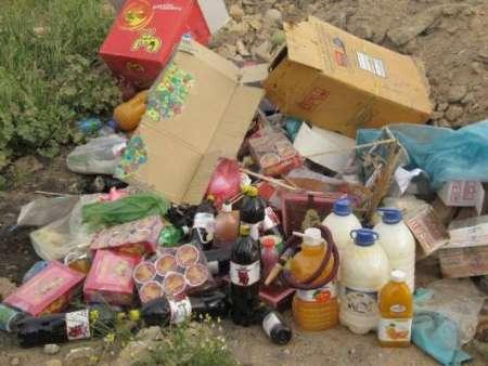 10 تن مواد غذایی فاسد و غیر بهداشتی در سراب معدوم شد