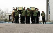 تشییع پیکر 2 شهید افغانستانی جنگ سوریه( تصاویر)