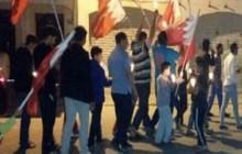 تظاهرات بحرینی ها در سالروز پنجشنبه خونین