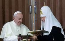 رهبر کلیسای ارتدکس روسیه: همراه پاپ نگران تقابل روسیه و ناتو هستم