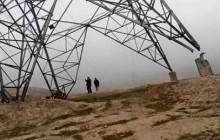 تخریب یک پایه دیگر برق صادراتی تاجیکستان در بغلان افغانستان