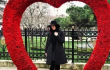 خانم بازیگر کشورمان در ترکیه + عکس