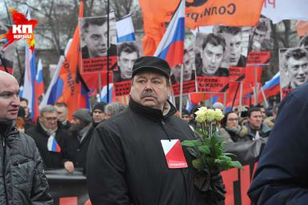 تظاهرات هزاران نفر در سالروز قتل رهبر مخالفان دولت روسیه در مسکو