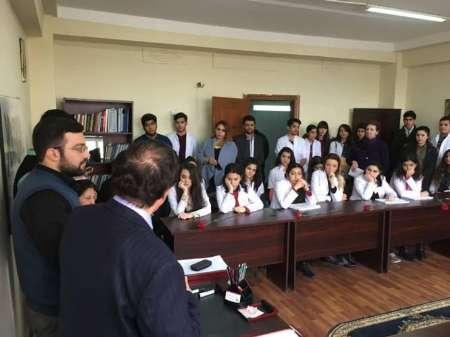 تجلیل انجمن دانشجویان ایرانی از قربانیان فاجعه خوجالی آذربایجان