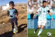 دعوت مسی از کودک افغان برای سفر به اسپانیا و بازدید از باشگاه بارسلونا