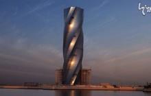 ساخت برجی حیرت آور در بحرین +عکس
