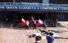 اعتراضات بحرینیها در اروپا در آستانه سالروز انقلاب