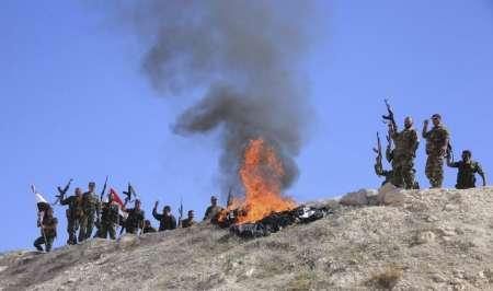 نیروهای بسیج مردمی عراق حمله داعش در صلاح الدین را خنثی کردند