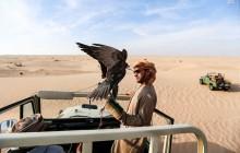 تفریح لوکس در بیابانهای امارات+تصاویر