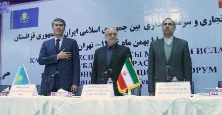 نعمت زاده: ایران حلقه ارتباط قزاقستان با آب های آزاد است