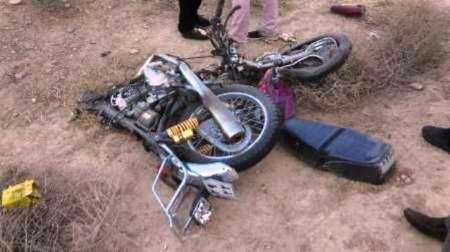 یک کشته و سه مجروح در برخورد دو موتورسیکلت در جاده برون شهری آبادان