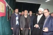 گشایش نمایشگاه خوشنویسی استاد علی عبدالحسین زاده در خلخال