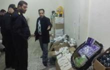 محموله دارویی قاچاق به ارزش 10 میلیارد ریال در تبریز ضبط شد