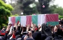 پیکر شهید مدافع حرم حضرت زینب (س) در مشهد تشییع شد