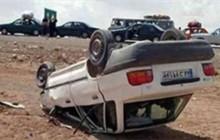 واژگونی خودرو پراید در جاده دهلران یک کشته برجا گذاشت