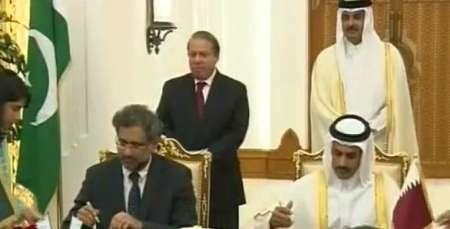 پاکستان قراردادنهایی خریدگاز ازقطر را امضاکرد