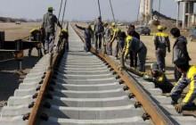 آغاز ریل گذاری راه آهن رشت - قزوین از مسیر رشت
