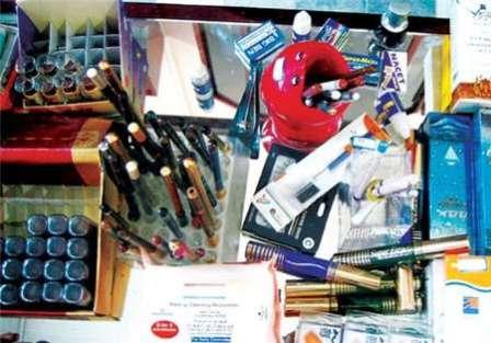 10 هزار عدد لوازم آرایشی خارجی قاچاق در مهاباد کشف شد