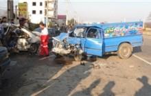 برخورد 3 خودرو 7 مصدوم و 2 کشته بر جای گذاشت