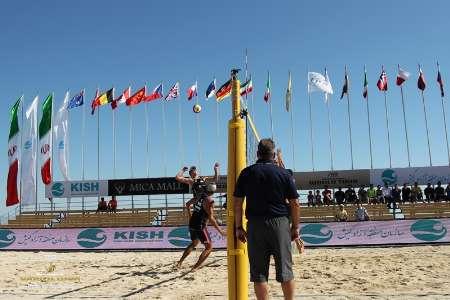 قطر قهرمان تور جهانی والیبال ساحلی در کیش شد