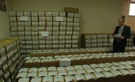 ارسال تعرفه و برگ های رای برای حوزه های انتخابیه مازندران آغاز شد