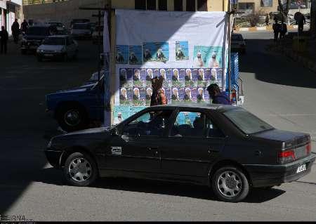 نصب 80 بنر تبلیغات انتخابات در 40 نقطه مهم شهر بانه