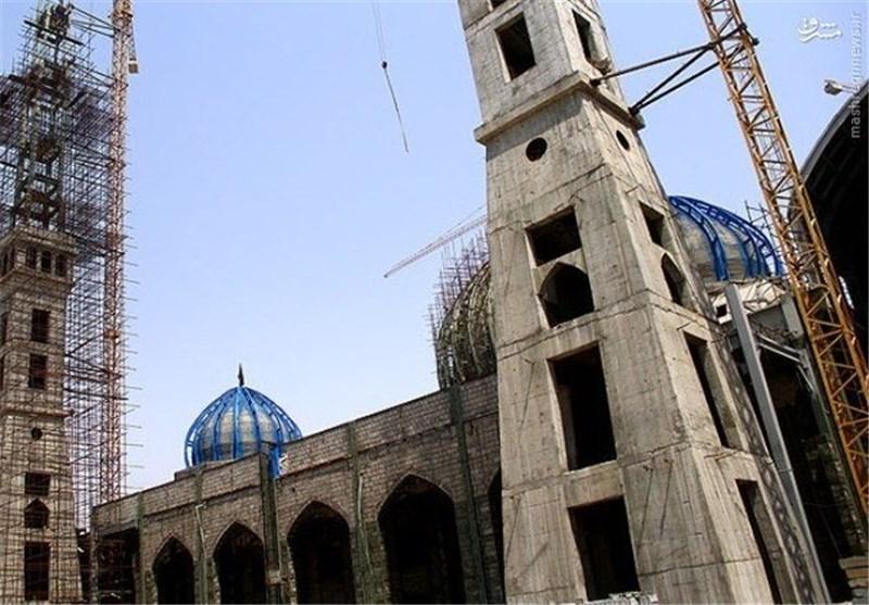 ساخت بزرگترین مسجد ایران +تصاویر