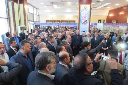 گشایش نمایشگاه محصولات فرهنگی ایران در اربیل