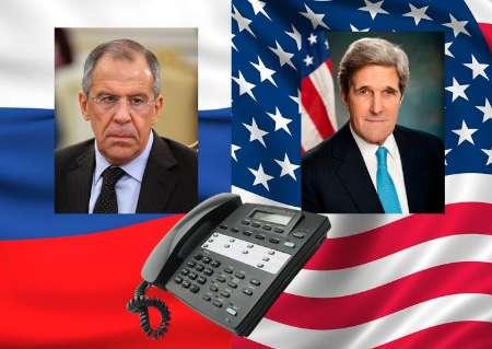 لاوروف و کری بر هماهنگی اقدامات روسیه و آمریکا در آتش بس سوریه تاکید کردند