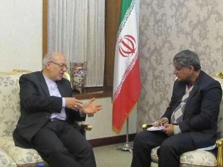 تاکید نعمت زاده برتسهیل ارتباط تجار بمنظور توسعه روابط اقتصادی ایران و افغانستان