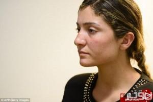 خاطرات تلخ برده جنسی داعش + عکس