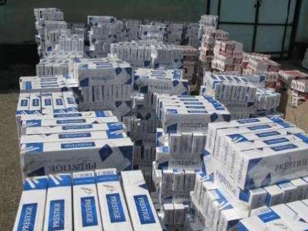 199 هزار نخ سیگار قاچاق در میاندوآب کشف شد