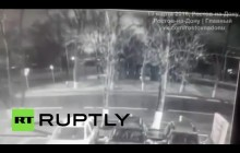 لحظۀ سقوط هواپیمای اماراتی در روسیه + ویدیو