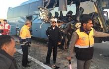وقوع دو سانحه اتوبوس در نخستین روزهای سال 95
