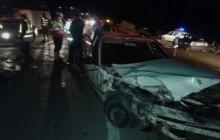تصادف زنجیره ای 17 دستگاه خودرو و مصدومیت 5 نفر درجاده بجنورد به گلستان