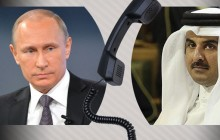 پوتین تلفنی به امیر قطر چه گفت؟
