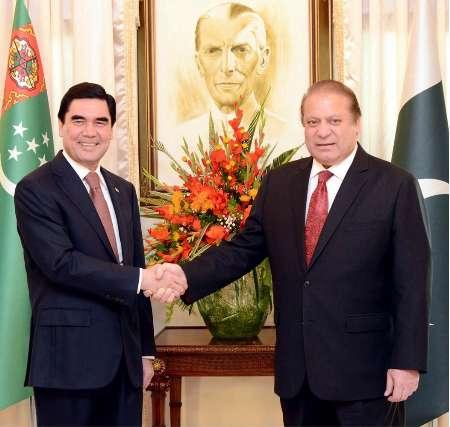 استقبال ویژه پاکستان از رئیس جمهوری ترکمنستان/ چشم اسلام آباد به 'برق و گاز' عشق آباد
