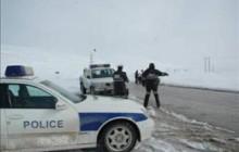 برف و کولاک مسیر ارتباطی سرچم - اردبیل را بست
