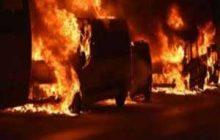 6 خودرو در استانبول به آتش كشیده شد