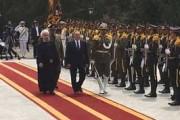 استقبال رسمی روحانی از رییس جمهوری قزاقستان