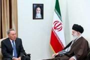 دیدار رئیس جمهوری قزاقستان با مقام معظم رهبری