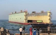 تحویل داک شناور ۲ هزار تنی به نیروی دریایی ارتش
