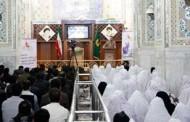 جشن ازدواح ۶۶ زوج جوان در حرم رضوی
