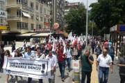 تجمع مردم آمریکا مقابل سفارت ترکیه
